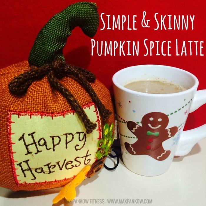Simple & Skinny Pumpkin Spice Latte - Max Pankow
