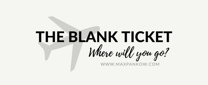 The Blank Ticket